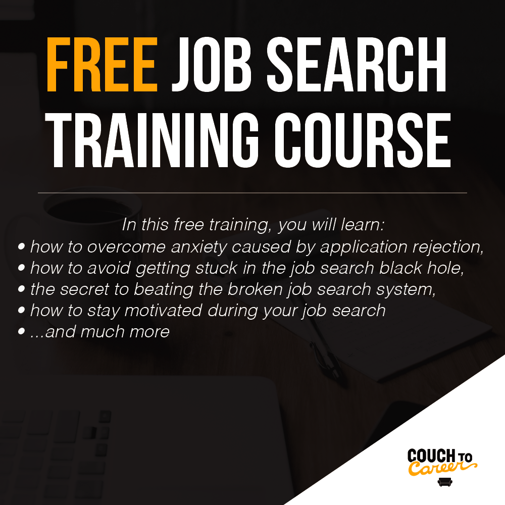 free job search training course to help job seekers to get hired faster