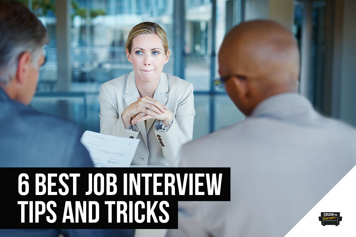 6 Best Job Interview Tips and Tricks to Help You Get Hired Faster in 2020